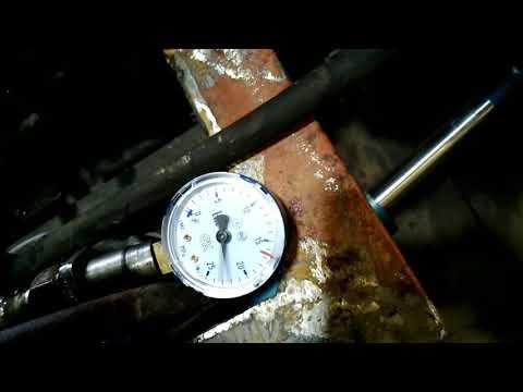 Сколько давит нш 10? проверка давления гидросистемы.