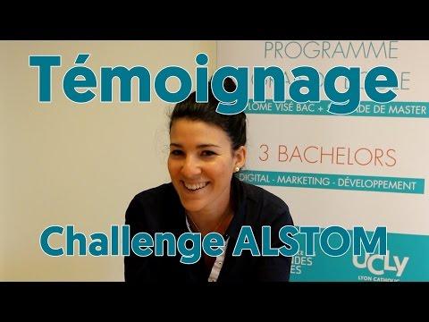 Marine a participé au Challenge Alstom