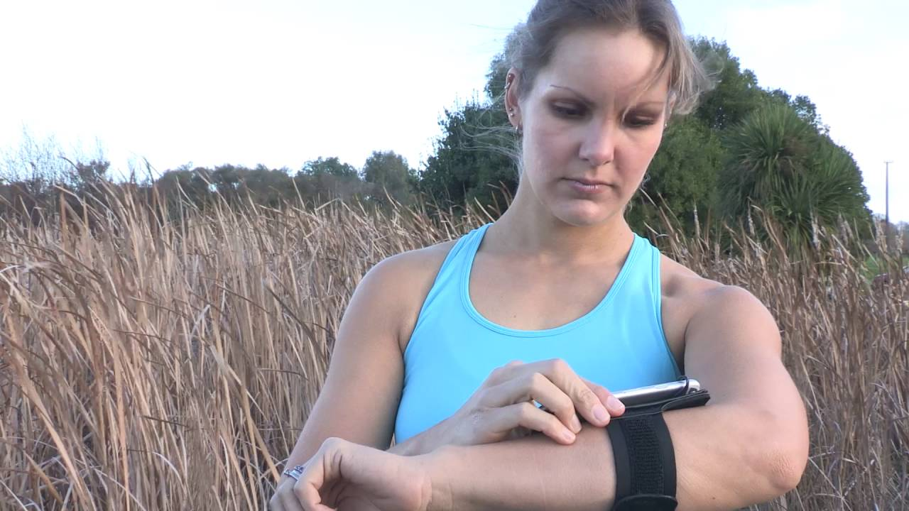 Sport armband voor smartphone