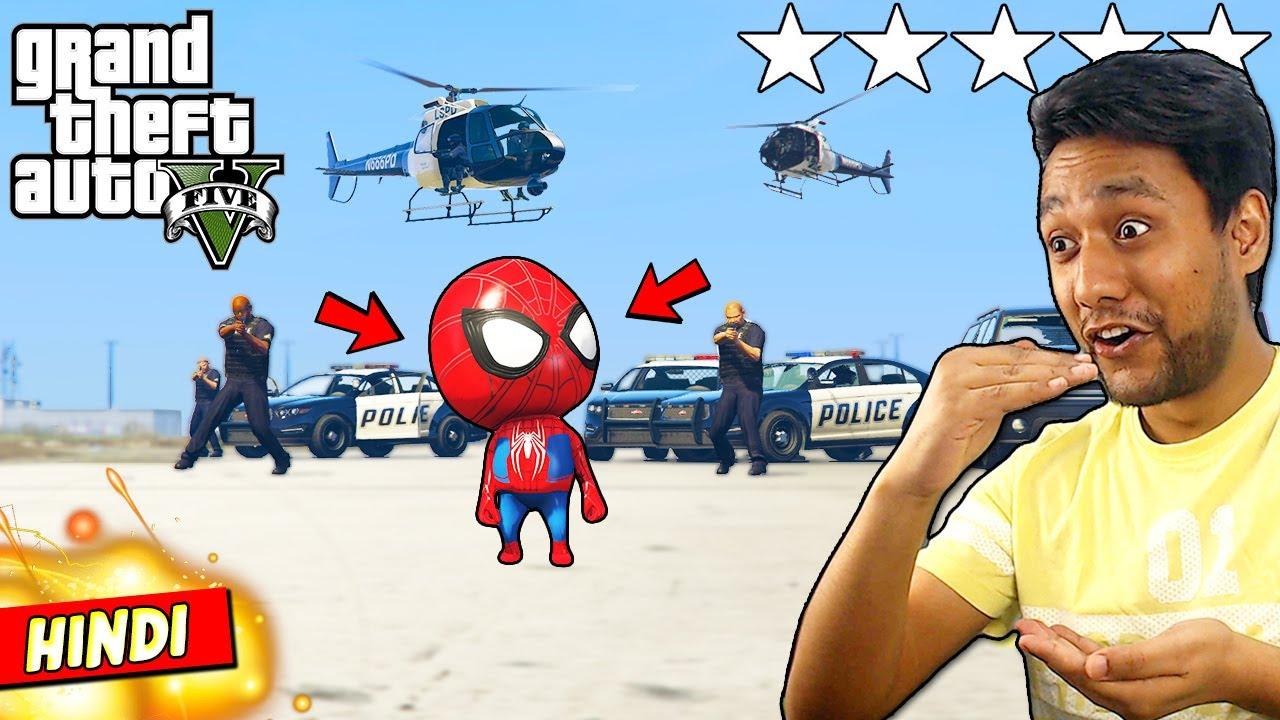 PLAYING GTA 5 As SPIDERMAN KID!  (BEST SUPERHERO) 🕷👶