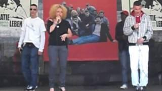 Cooler Hip Hop - Rap aus Berlin - Part 4 - am Brandenburger Tor - 1.5.2010