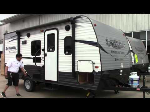 New 2017 Keystone Springdale 1800BH Travel Trailer RV Holiday World of Houston, Dallas & Las Cruces