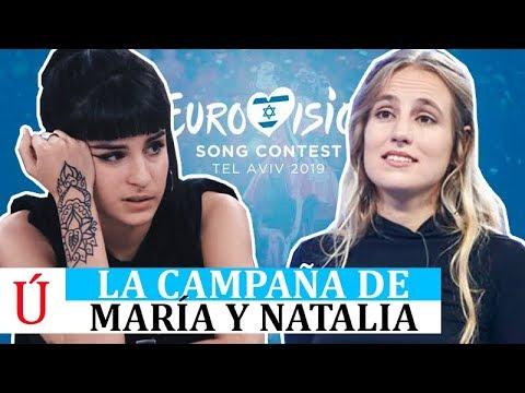 Natalia y María se rebelan contra Operación Triunfo y hacen campaña por Miki en Eurovisión, La Venda