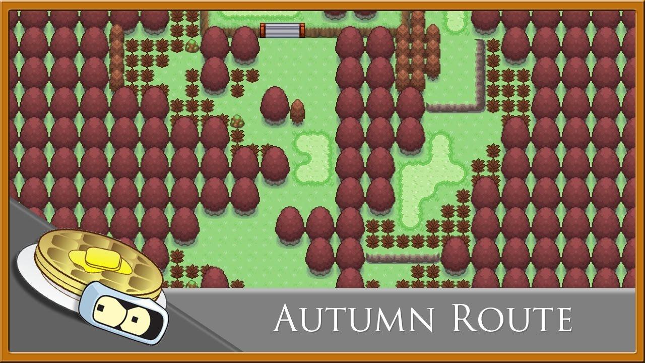 Autumn Route Speed Development - RPG Maker XP (Pokemon Essentials)