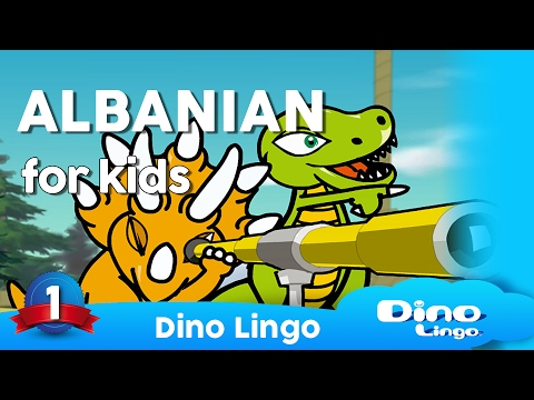 Albanian for kids DVD set - Children learning Albanian, gjuha shqipe, Albania