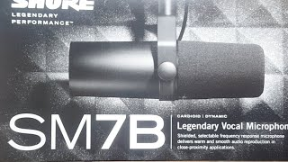 🔥SHURE SM7B MICROPHONE IRL UNBOXING thumbnail