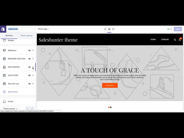 UPDATE] Saleshunter - Best Converting Shopify Theme  FREE