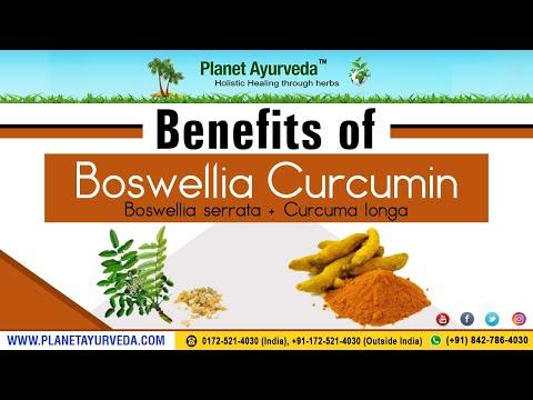 Benefits of Boswellia (Boswellia serrata) + Curcumin (Curcuma longa)