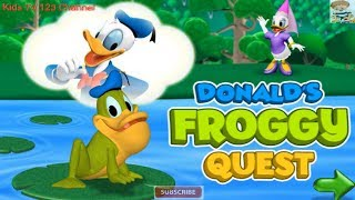 Donald's Froggy Quest Game | Mickey Mouse Clubhouse Full Episodes Games HD | Kids TV 123 Channel