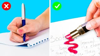 SNEAKY EVERYDAY TRICKS THAT WILL SAVE YOU THE TROUBLE