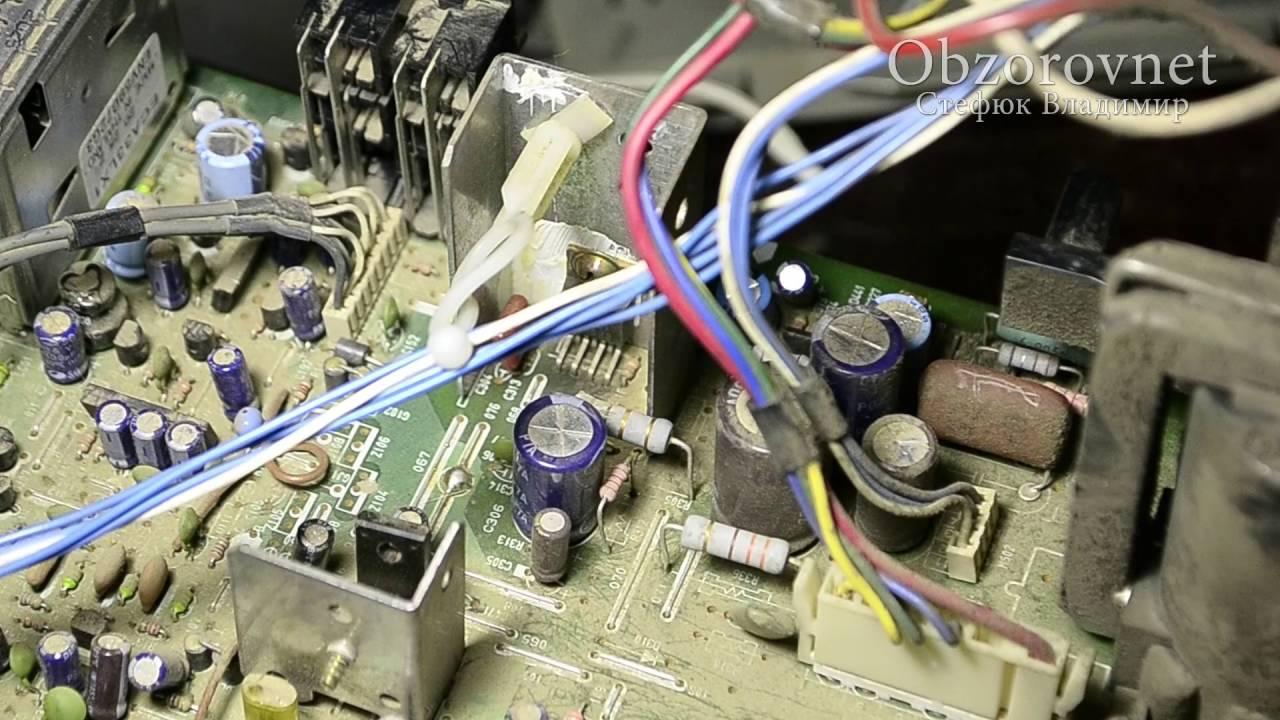 электрическая схема телевизора erisson 1407