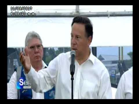 Sertv Presidente Juan Carlos Varela realiza recorrido en Metrobus