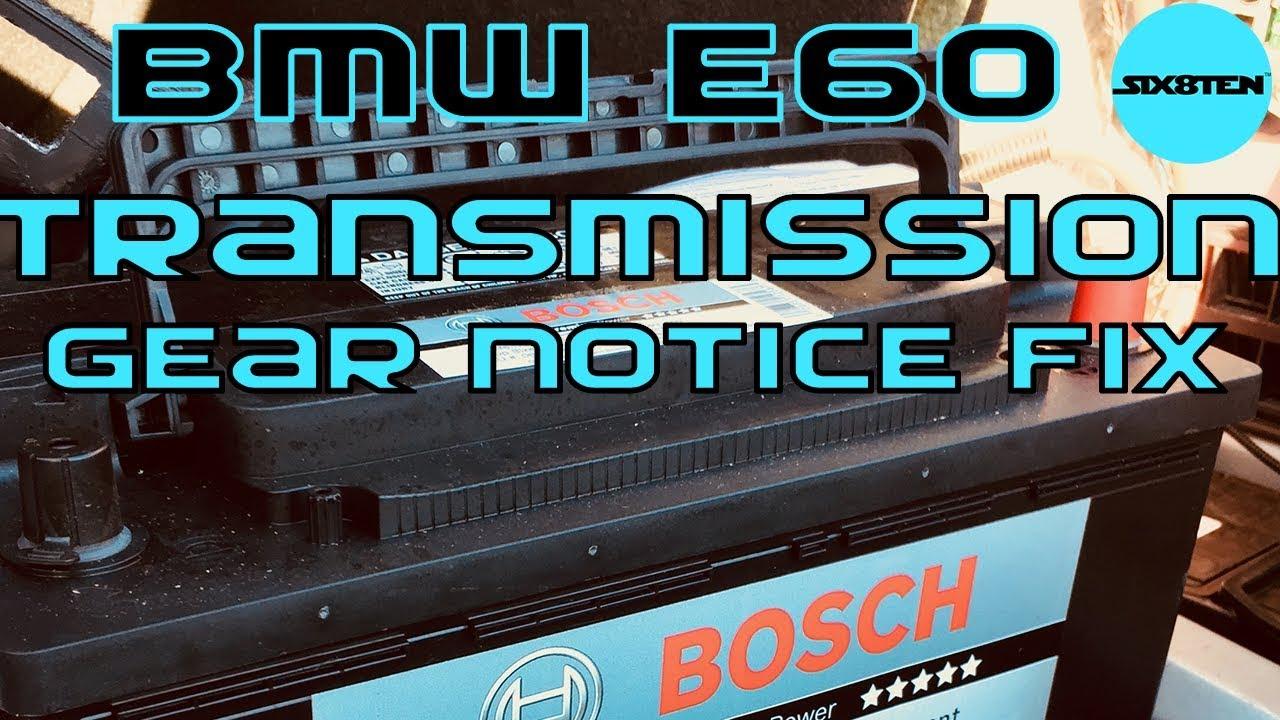 BMW E60 525i Transmission Error Fault ((PART 1)) Code P0700, P0335, P1727