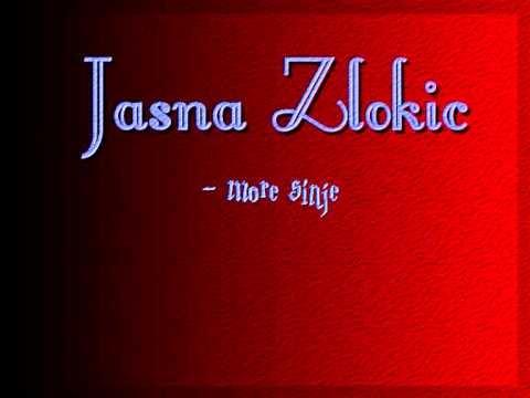 Jasna Zlokic - More sinje