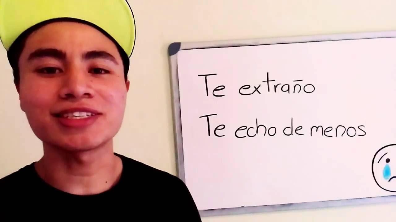 """Como Falar """"Estou Com Saudades De Você"""" Em Espanhol"""