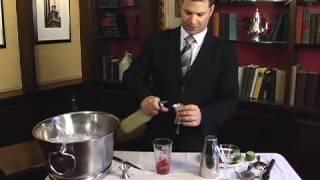 Raspberry Lime Ricky Martini