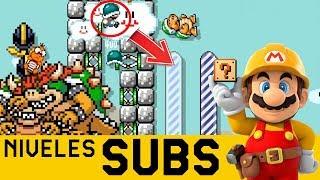 Descubro un ERROR Supremo en la MATRIX 😨 - Niveles de Suscriptores #37 | Mario Maker - ZetaSSJ