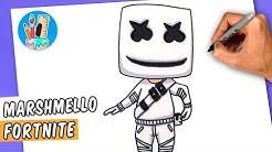Marshmello Dibujo Fortnite