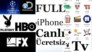iPhone İLe Full <b>Canlı Tv</b> Keyfi Futbol+ / Film+ / Discovery+ ...