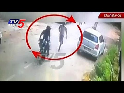 Chain Snatching Cases Increased in Bangalore | CCTV Exclusive Visuals | TV5 News