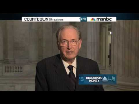 Senator Jay Rockefeller with keith Olbermann on Health Care