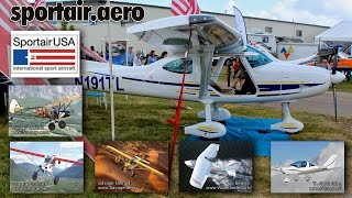 SportAir USA, Sirius, Sting, Savage lightsport aircraft, sales, service, repair.