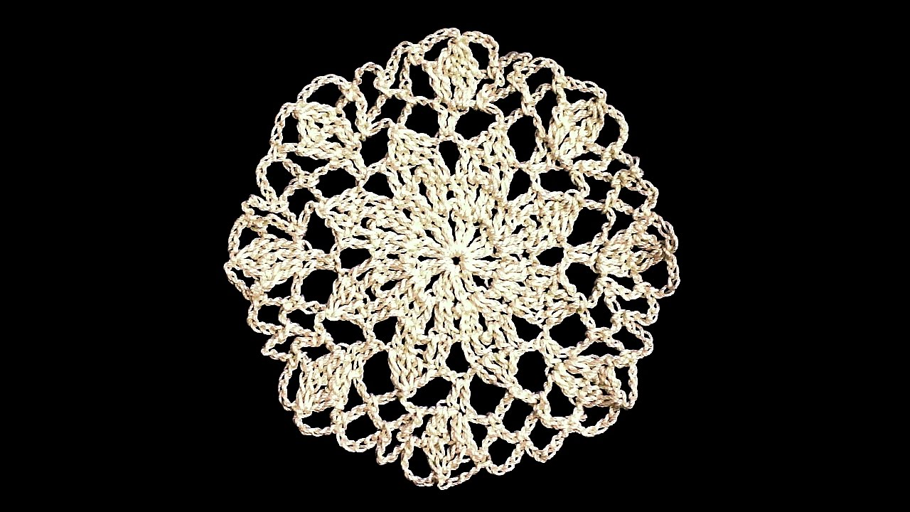 Star Mini Doily Pattern