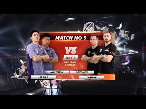 2017 Highlights PBL MD Lee Yong Dae 이용대 / Nipitphon vs Ivanov / Sozonov