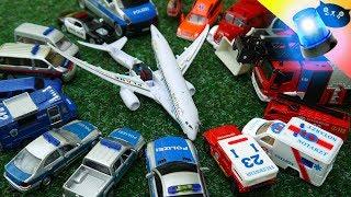 Polizei & Feuerwehr Einsatz Cars of the City: Flugzeugabsturz Großeinsatz German Policecars Fire 🚒