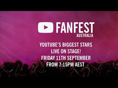 YouTube FanFest Australia 2015 - Livestream