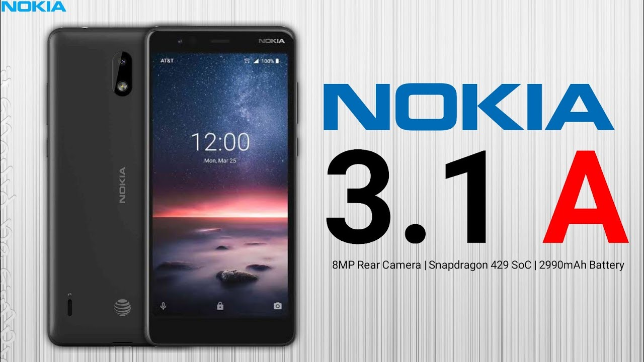 Nokia 3.1 A  unboxing and first impressions