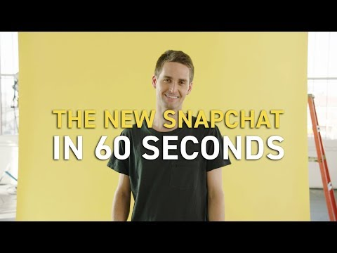 60 Seconds To New Snapchat!