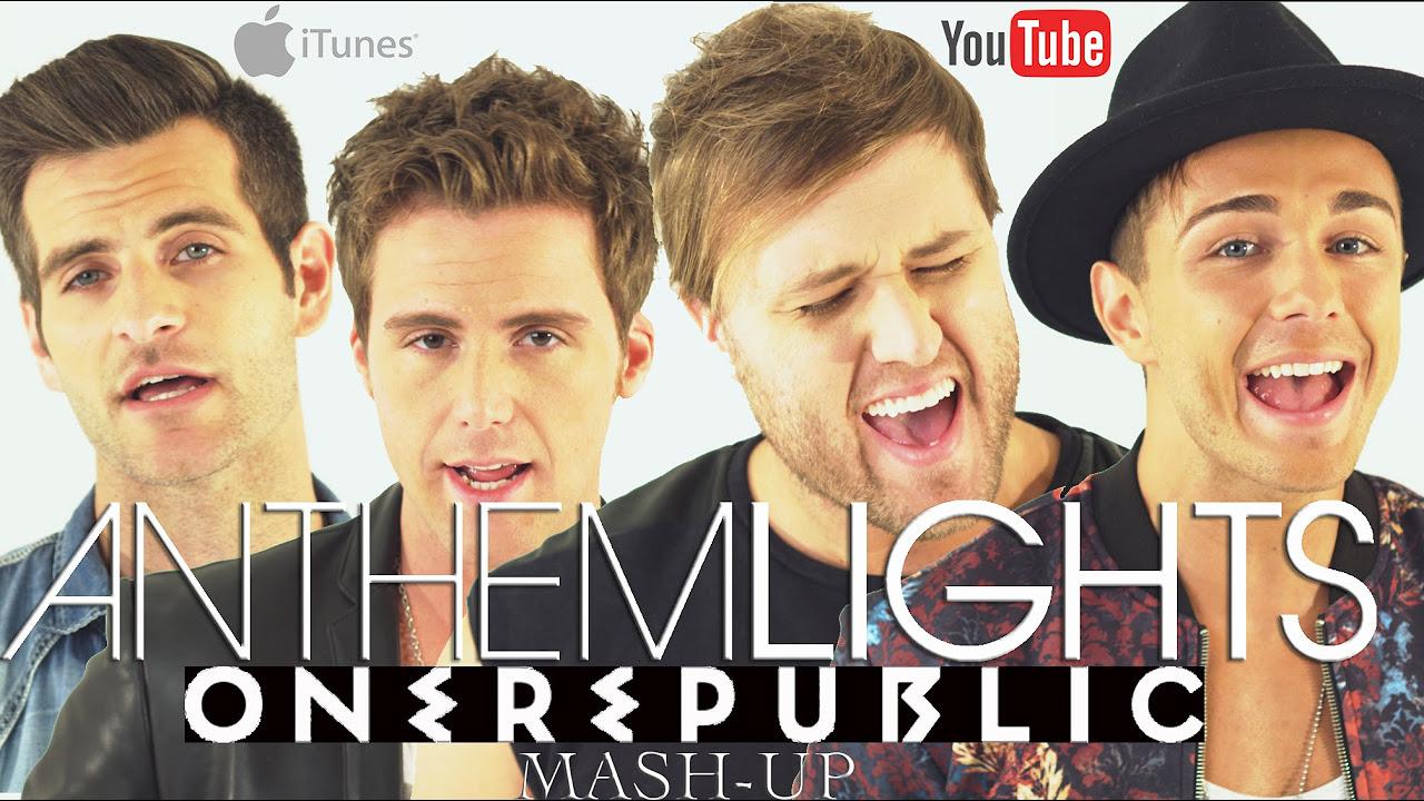 OneRepublic - Counting Stars x Apologize x Good Life x Secrets   Anthem Lights Mashup