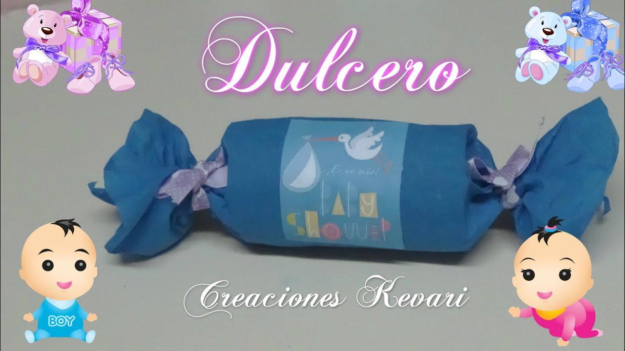 Dulcero Para Baby Shower Material Reciclado/Candy Bag   YouTube