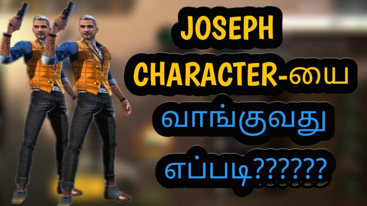 How To Top Up 1 Diamond And Get Joseph Character Free In Free Fire Jdev