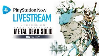 Metal Gear Solid HD Collection Livestream
