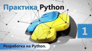Разработка на Python. Практика Python. Урок 1