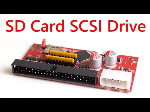 SCSI2SD SD Card SCSI Drive Review