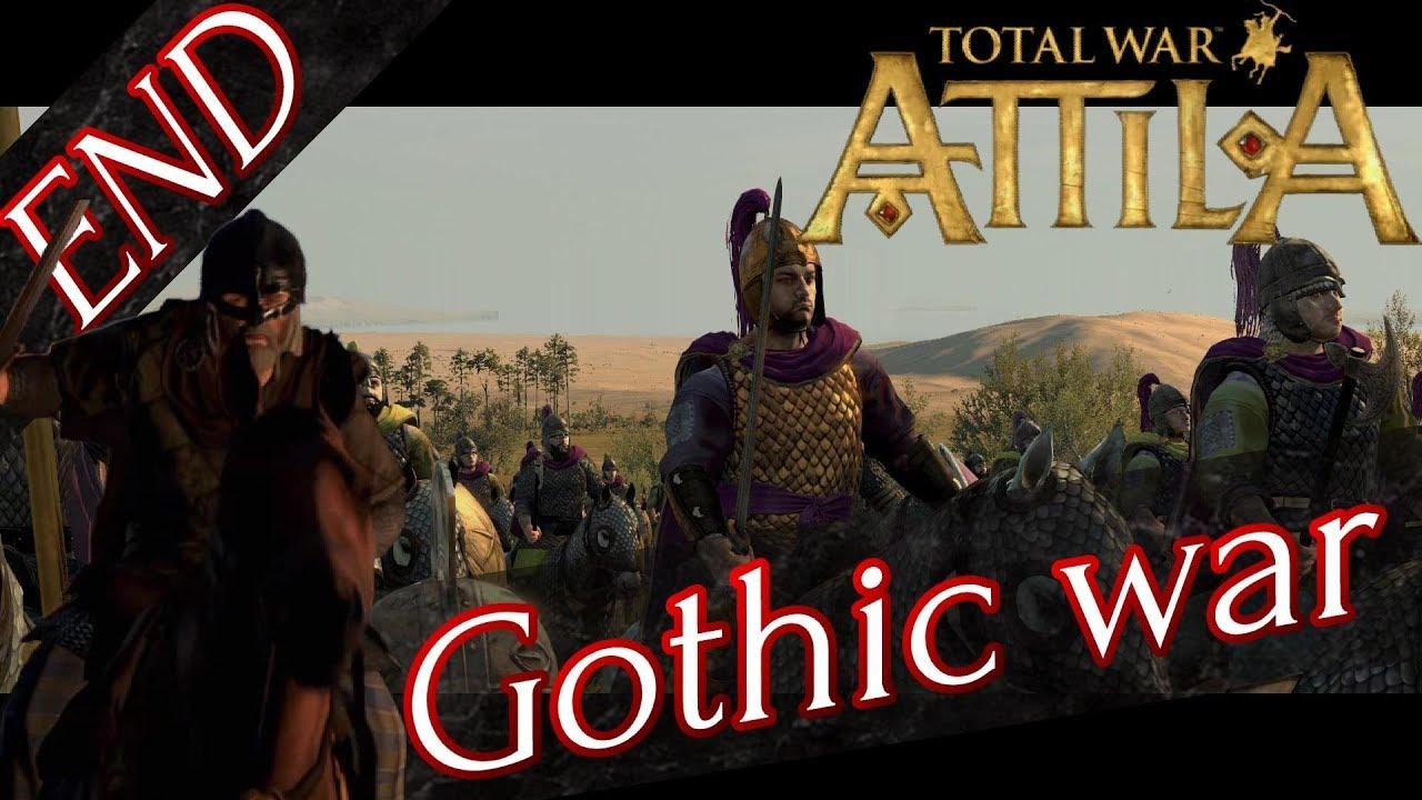 RTS】 #END Total War: Attila ...