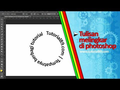 Cara membuat lingkaran berigi menggunakan ( adobe photoshop ).