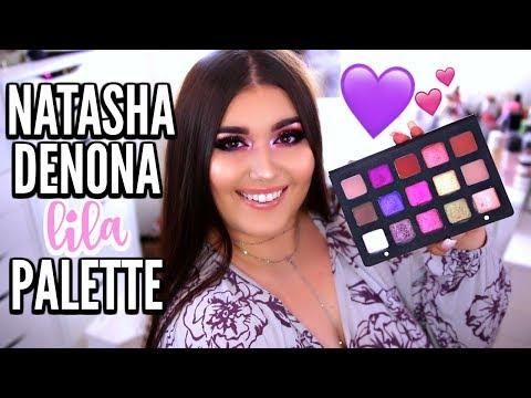 $129 NATASHA DENONA LILA EYESHADOW PALETTE | Review, Swatches & Makeup Tutorial ♡ Deanna Borocz