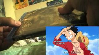 One Piece The Desert Princess and The Pirates Blu-Ray unboxing