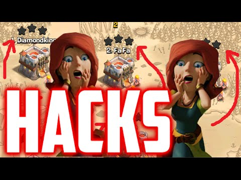 Clash Of Clans HACKS - Game Over Clash Of Clans? (Hacking In Wars, Farming, Trophy)