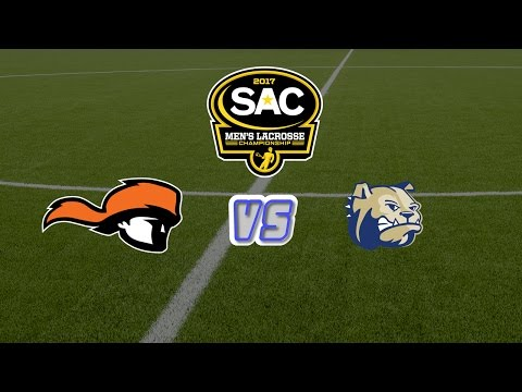 2017 SAC Men\'s Lacrosse Tournament Match 4: #2 Wingate vs #3 Tusculum