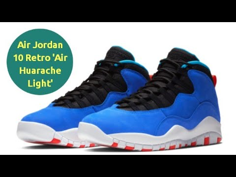 finest selection 5d1a4 3f60c Air Jordan 10 Retro 'Air Huarache Light'