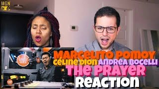 Marcelito Pomoy - The Prayer (Celine Dion/Andrea Bocelli) Reac…