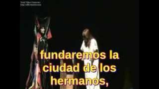 María Zambrano - La tumba de Antígona - Los Hermanos (con subtitulos en español)