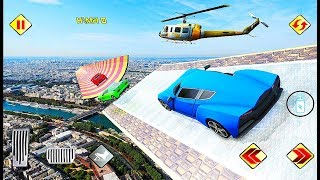 Extreme Ramp Car Gt Stunts 2019 - Mega Ramps All Latest Sports Cars to Drive Game - Android GamePlay