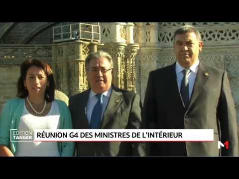 Séville: Une Réunion Quadripartite Des Ministres De L'Intérieur