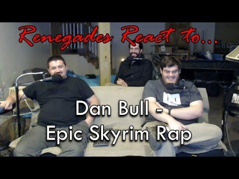 Renegades React to... Dan Bull - Skyrim Epic Rap